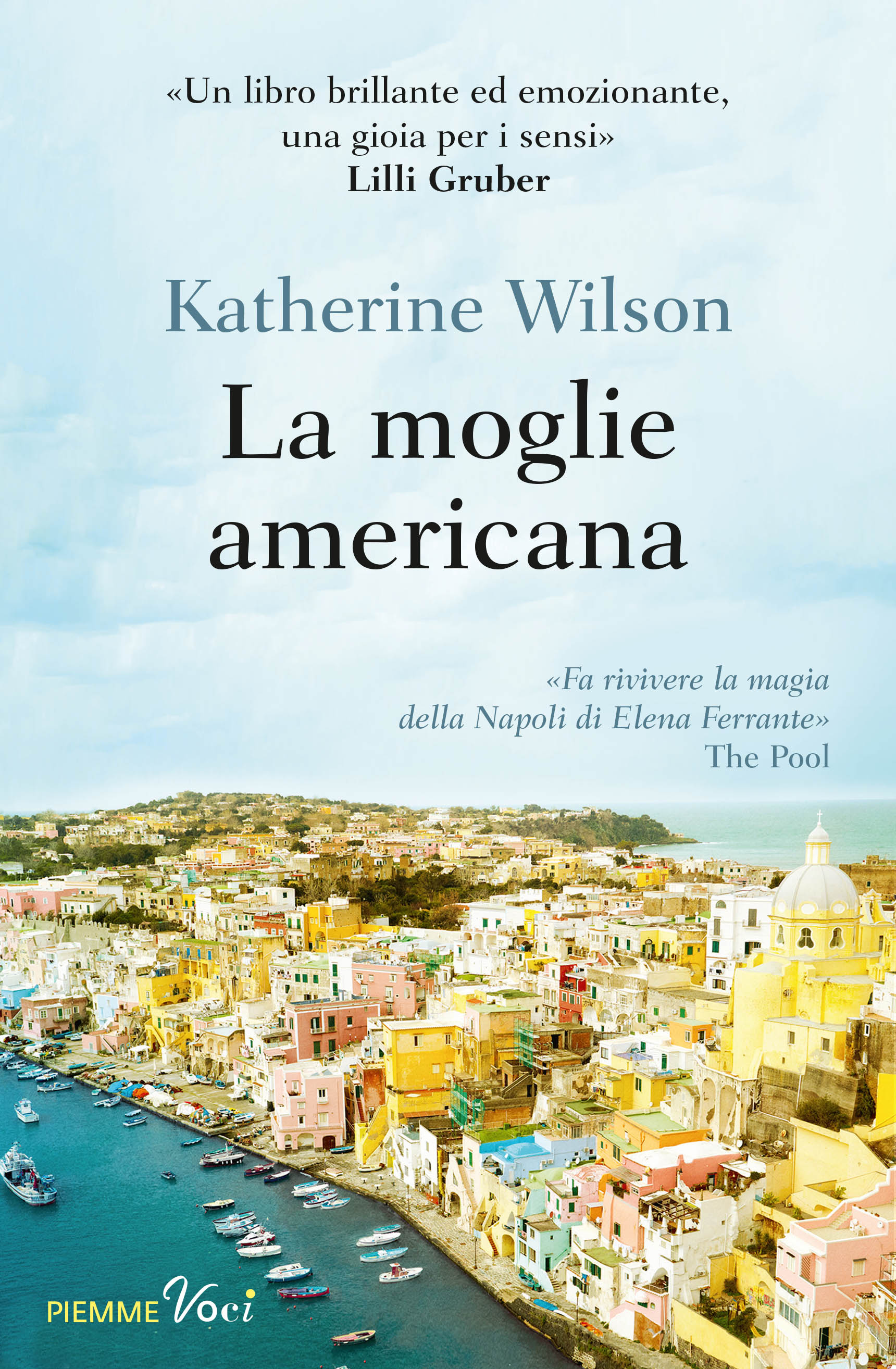 Italian cover of Only in Naples by Katherine Wilson